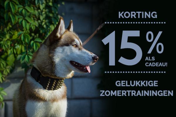Korting Hondewinkel, halsband kopen