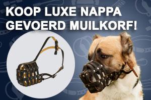 Nappa Voering Leren Muilkorf